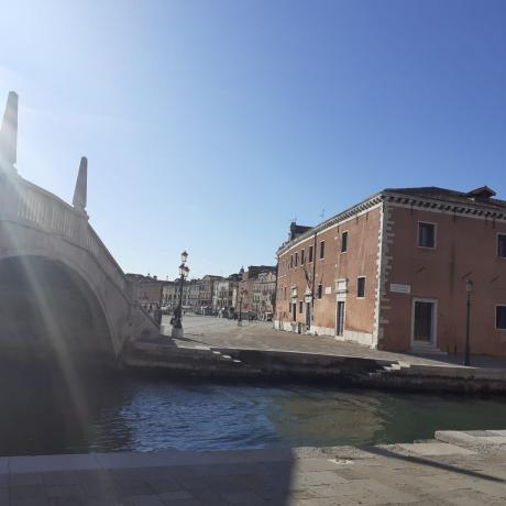 Der Arsenale in Venedig